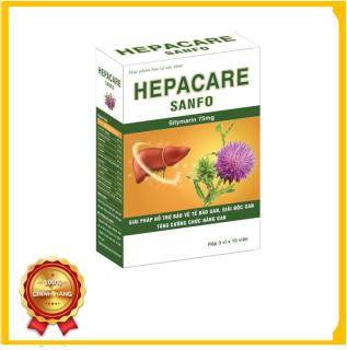 Bổ gan giải độc gan HePacare của SanFord 3 Vỉ Mỗi Vỉ 10 Viên thumbnail