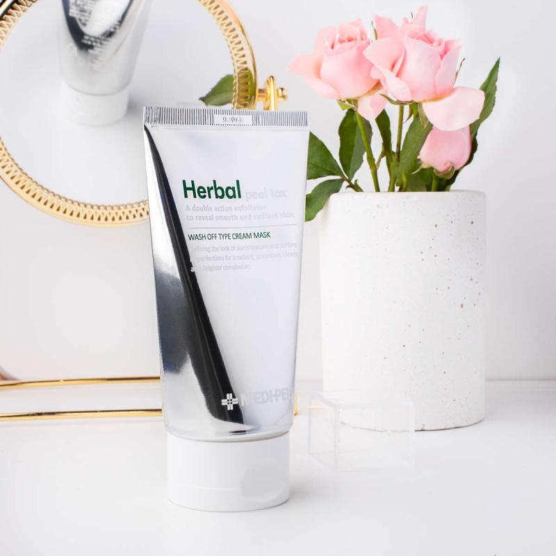 Mặt nạ thải độc Medi-Peel Herbal Peel Tox Wash Off Type Cream Mask