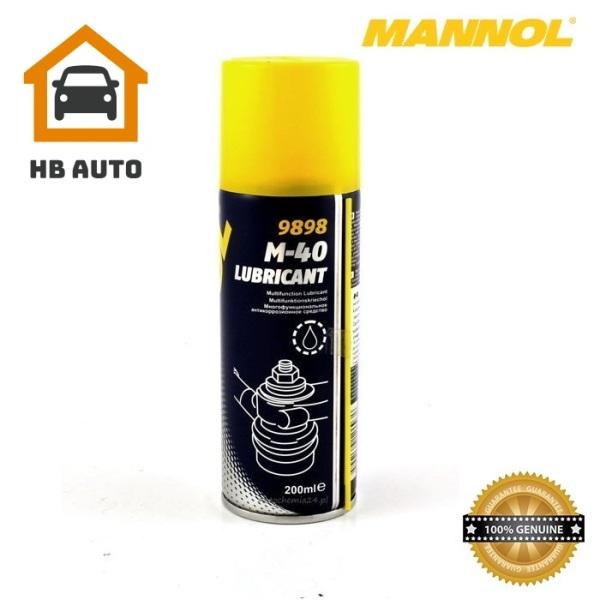 Dầu Bôi Trơn, Chống Gỉ, Bảo Vệ Kim Loại, Đa Năng MANNOL 9898 M-40 Lubricant (smart) 200ML Multifunction Lubricant – HB AUTO