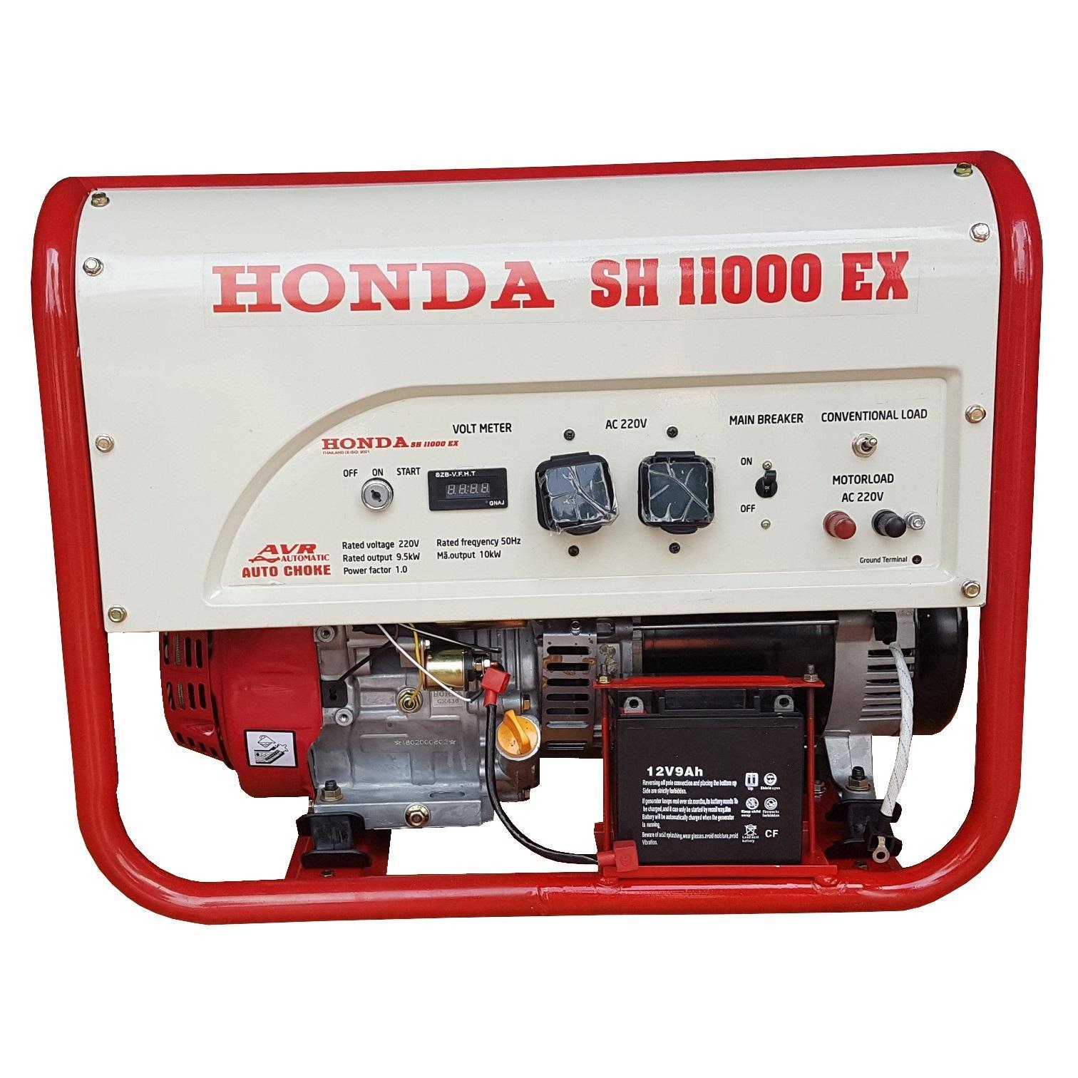 Máy Phát Điện Honda 10kw SH11000 Chạy Xăng & Đề Nổ