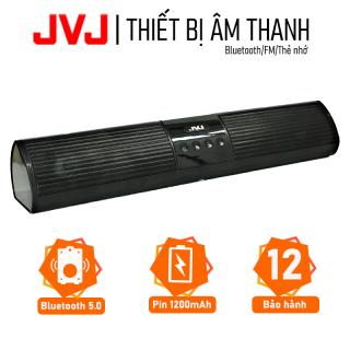 Loa nghe nhạc bluetooth speaker JVJ A2 không dây dáng dài 2 loa cực đỉnh - Kiểu dáng sang trọng hỗ trợ thẻ nhớ, đài FM Loa Bluetooth, Loa karaoke, Loa nghe nhạc bluetooth, loa không dây bảo hành 12 tháng, Micro Bluetooth, thumbnail