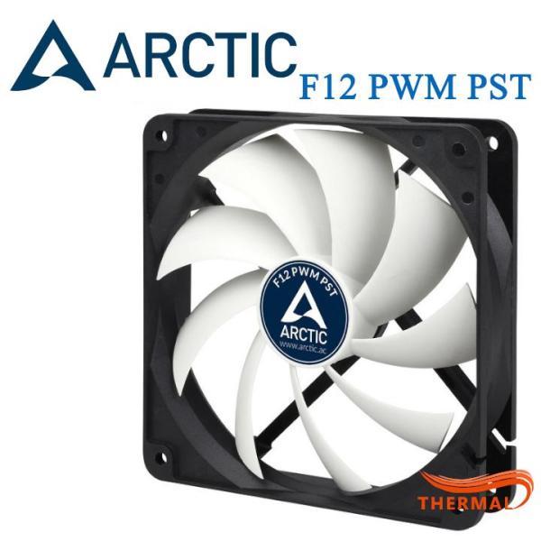 Fan case 12cm Arctic F12 PWM PST [ThermalVN] - Quạt quay êm, sức gió tốt, tuổi thọ sản phẩm cao, dây nối PST