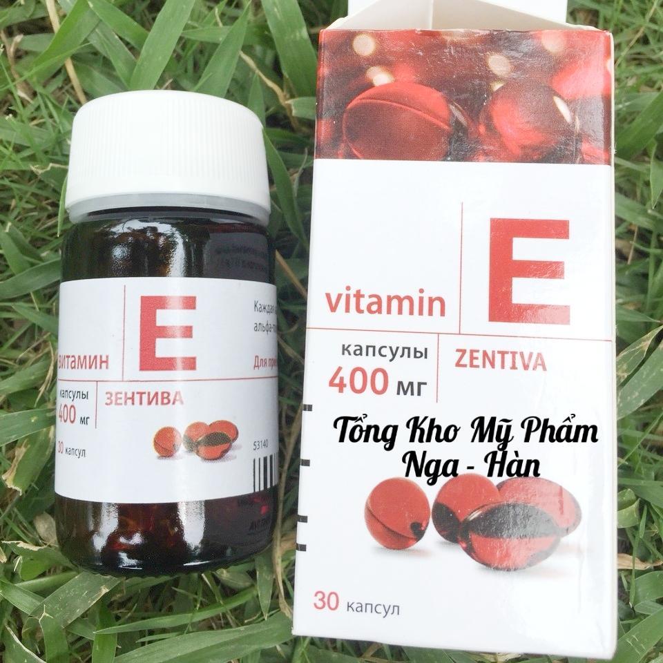 Viên uống Vitamin E Zentiva chính hãng