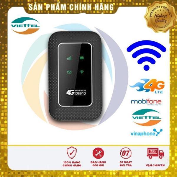 Củ phát wi-fi 4G- Bộ phát wi-fi 4G- Máy wi-fi mini 4G- Thiết bị phát wifi di động D6610 - SIÊU PHẨM 2020 - TẶNG KÈM SIÊU SIM 4G