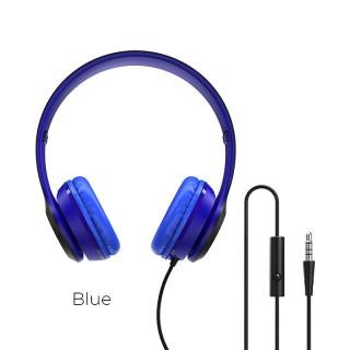Tai nghe có dây âm thanh BOROFONE BO5 Star có mic, đầu cắm âm thanh 3,5mm, nút điều khiển , dây cáp 1,2m. thumbnail