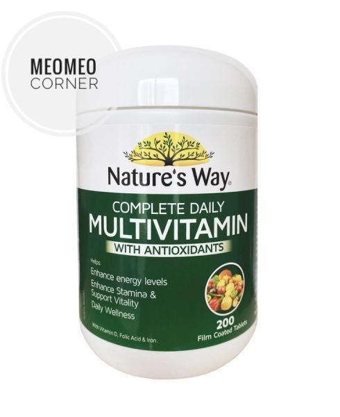 Vitamin Tổng Hợp Tảo Biển Nature's Way Complete Daily Multivitamin 200 Viên cao cấp