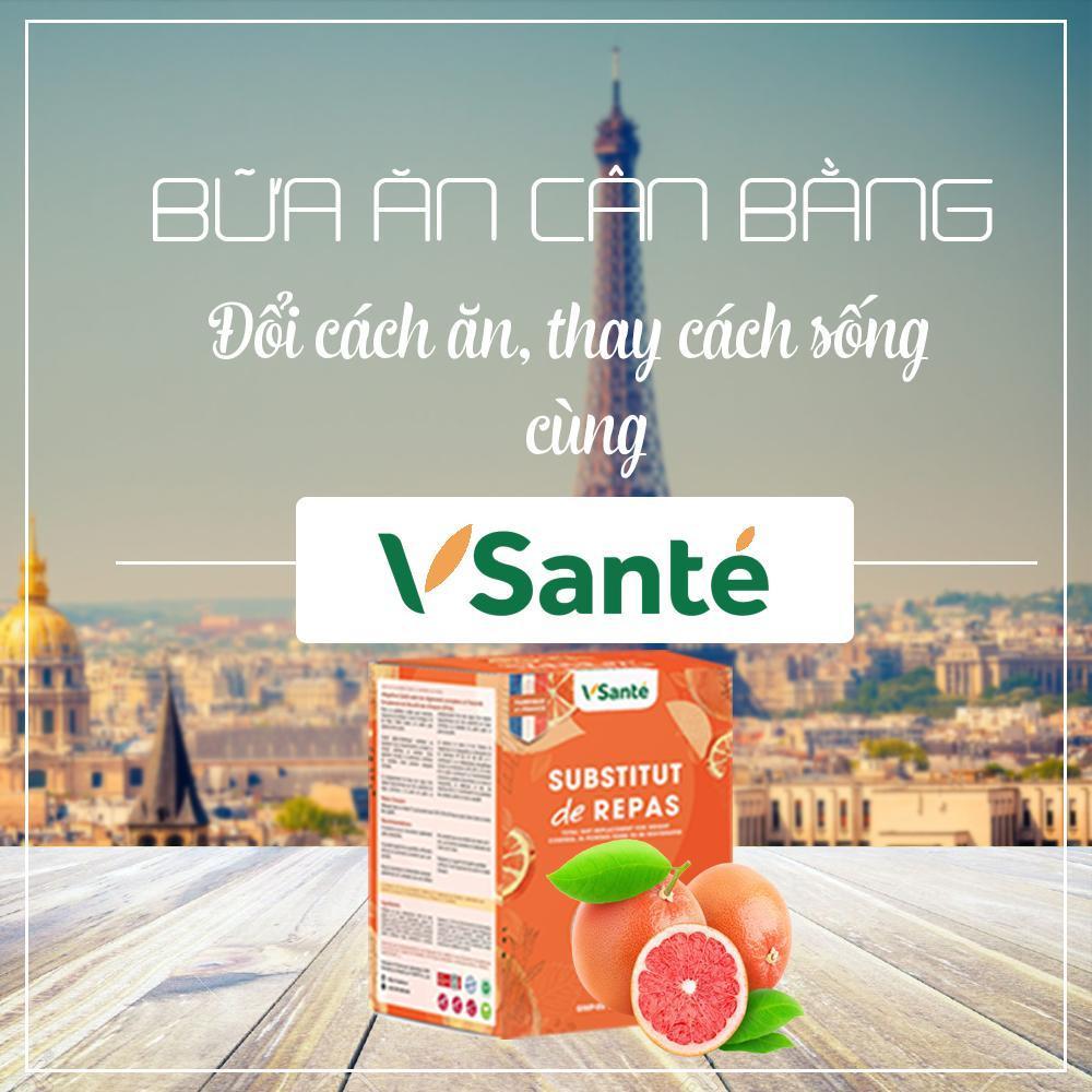 Hộp 7 gói Thực phẩm giảm cân [ Vị Bưởi ] - Thương hiệu Vsanté, Pháp cao cấp