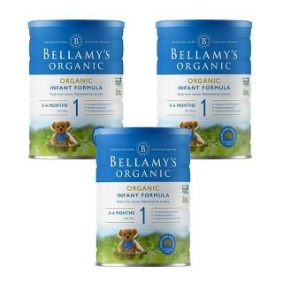 3 lon Sữa Bellamy s Organic công thức số 1 (bé từ 0-6 tháng) - 900gram thumbnail