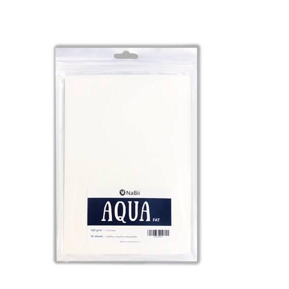 Mua Giấy vẽ Màu Nước A5 Nabii Aqua Fat 300gsm (16 tờ)