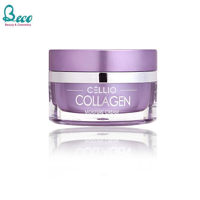Kem Dưỡng da và Giữ Ẩm Cellio Collagen 50ml Hàn Quốc