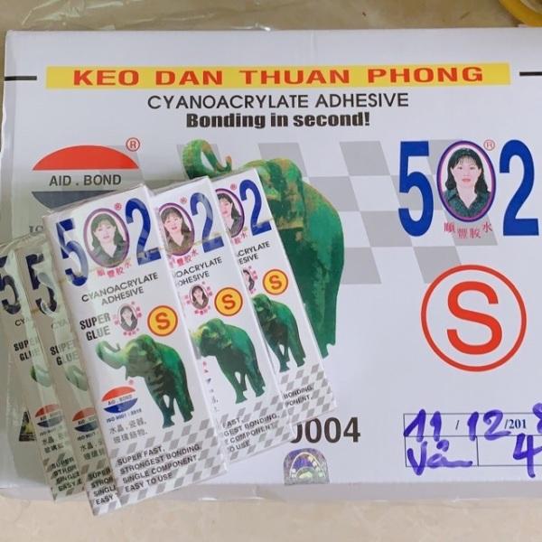 Keo dán con voi 502S hàng cao cấp Thuận Phong