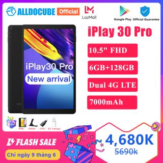 Máy Tính Bảng Máy Tính Alldocube IPlay 30 Pro 10.5 Inch, Bộ Nhớ RAM 6GB, ROM 128GB, Android 10, Phiên Bản 4G LTE, IPlay 30 Pro