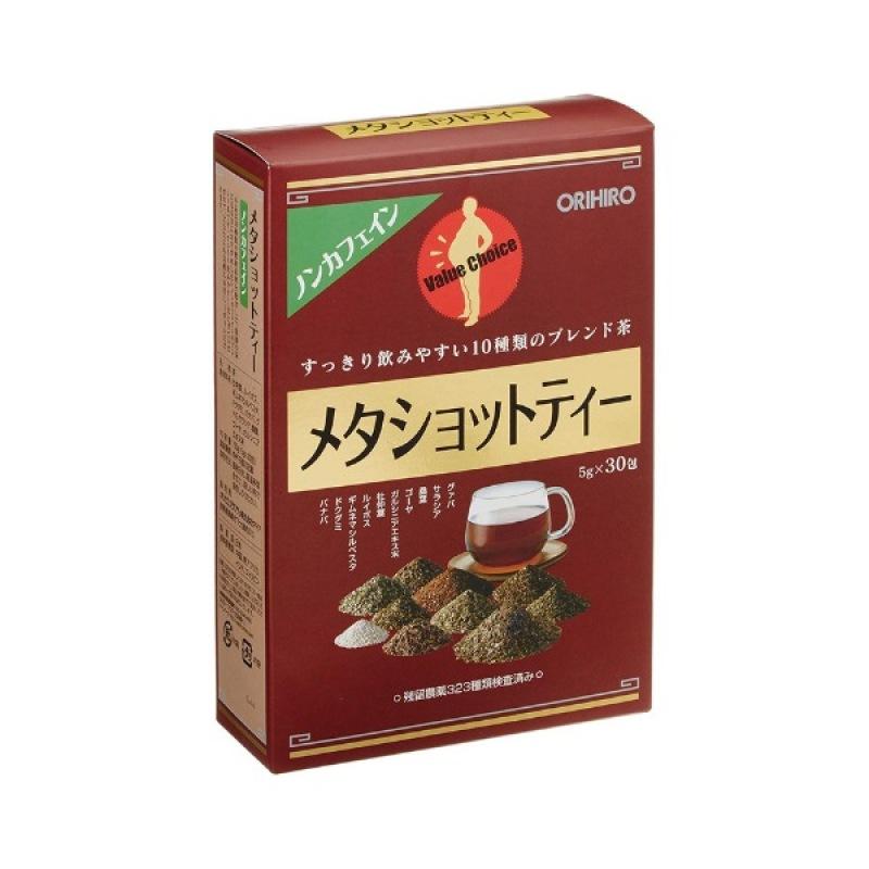 Trà giảm mỡ bụng Meta Shot Tea Orihiro 30 gói Nhật