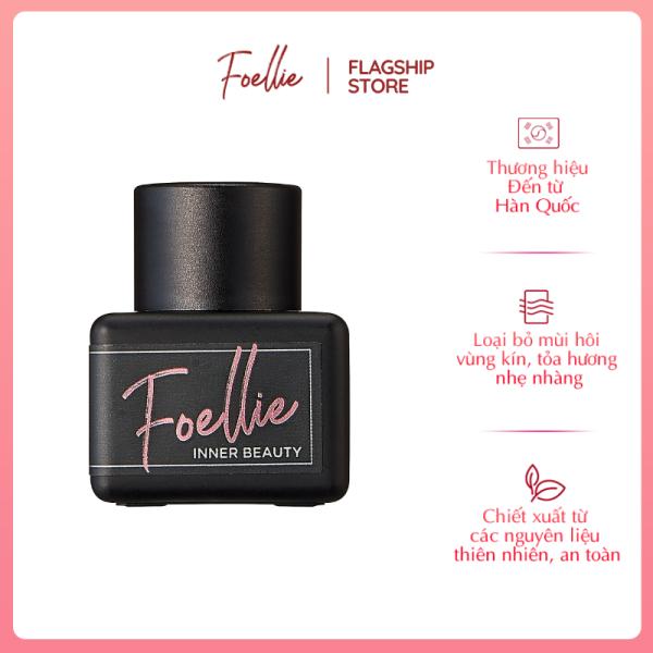 Nước Hoa Vùng Kín Foellie Hàn Quốc Hương Thơm Nồng Đượm 5ml - Eau de Bijou Inner Perfume