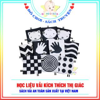 Học liệu vải kich thích thị giác đen trắng cho trẻ sơ sinh thumbnail