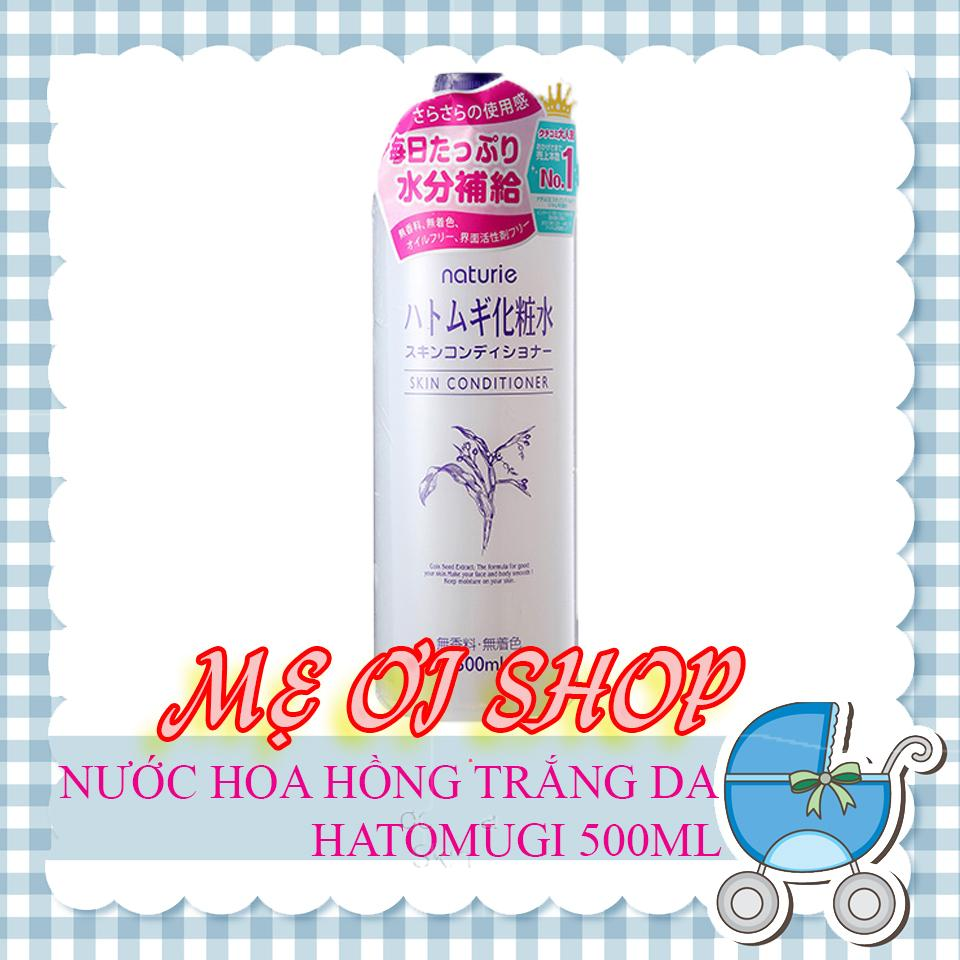 Nước Hoa Hồng Naturie Hatomugi Skin Conditioner 500ml