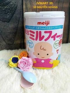 [ HÀNG NHẬT NỘI ĐỊA ] 4902705001404 Sữa bột thuỷ phân Meiji HP cho bé dị ứng đạm sữa bò 850 JVMART39 (Tặng hộp khẩu trang 100k cho đơn hàng 500k) thumbnail