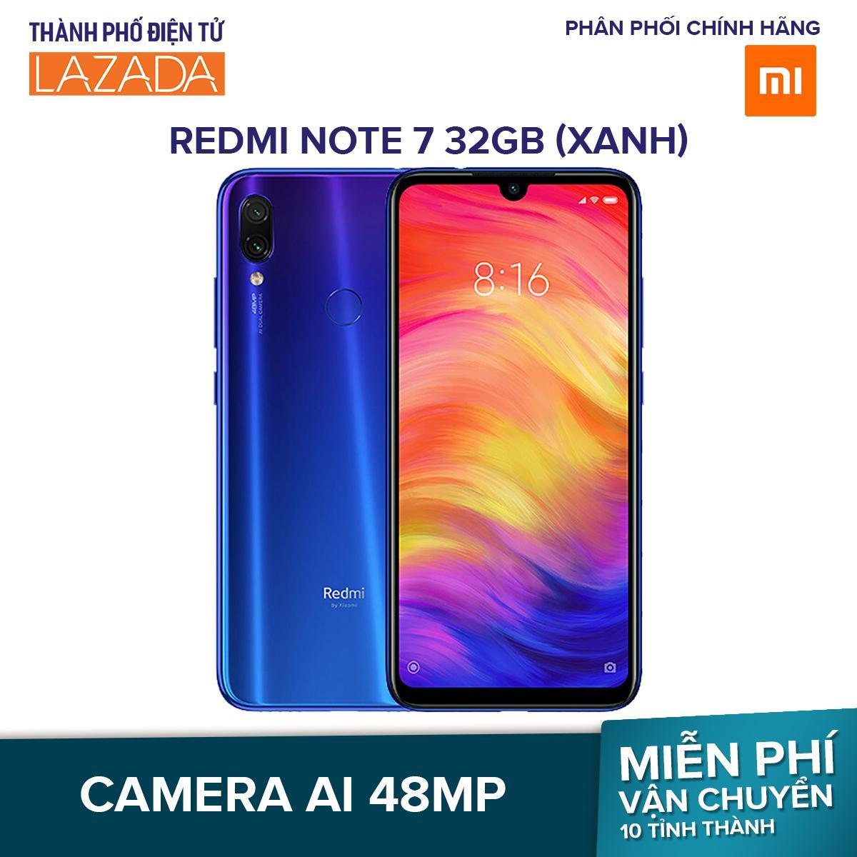 Điện Thoại Xiaomi Redmi Note 7 32GB/Ram 3G - Hãng Phân Phối Chính Thức