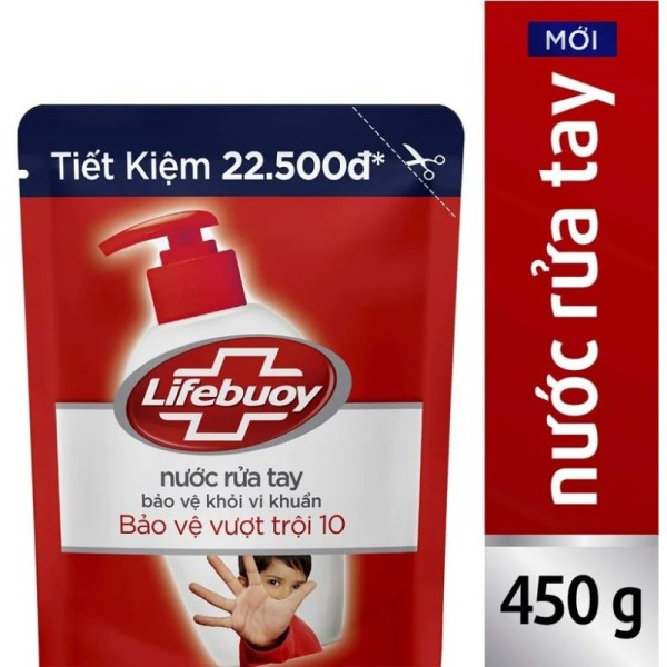 [ COMBO 3*] Nước Rửa Tay Diệt Khuẩn Lifebuoy Bảo Vệ Vượt Trội Túi (450g) phân loại sản phẩm giá rẻ