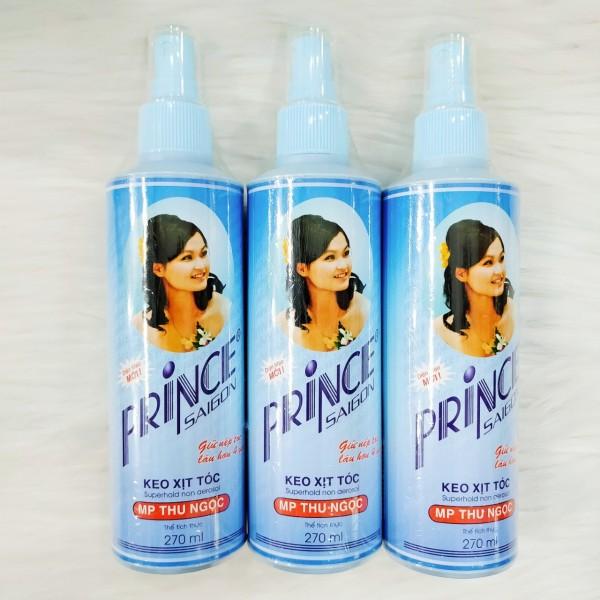 Keo xịt tóc Prince Sài Gòn 270ml