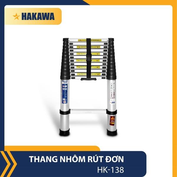 THANG NHOM RUT DON XEP GON CAO CAP NHAT BAN HAKAWA HK-138 (3M8) - HÀNG CHÍNH HÃNG - BẢO HÀNH 2 NĂM - ĐỔI MỚI TRONG 30 NGÀY