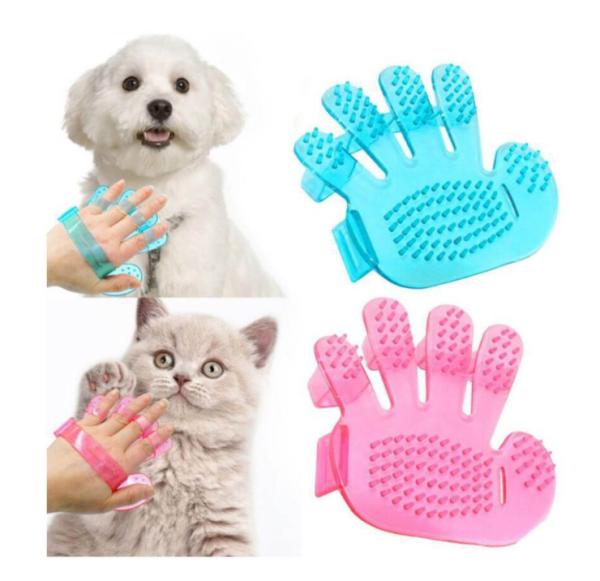 Bàn tay tắm cho chó mèo