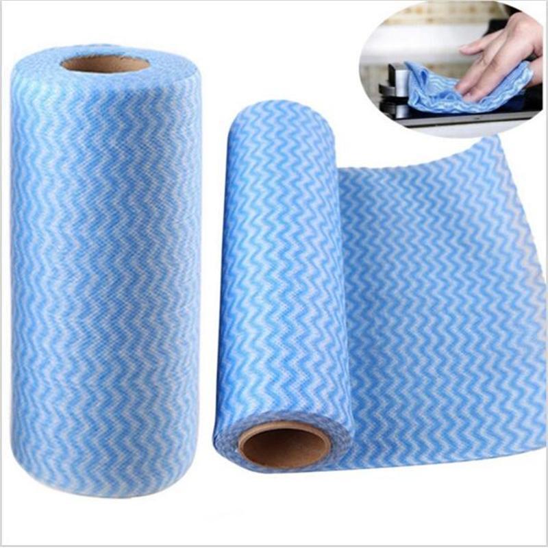 Comboo 5 cuộn khăn lau đa năng loại đẹp,giấy lau, đồ dùng phòng bếp, vệ sinh nhà cửa, cuộn giấy lau Nhật Bản