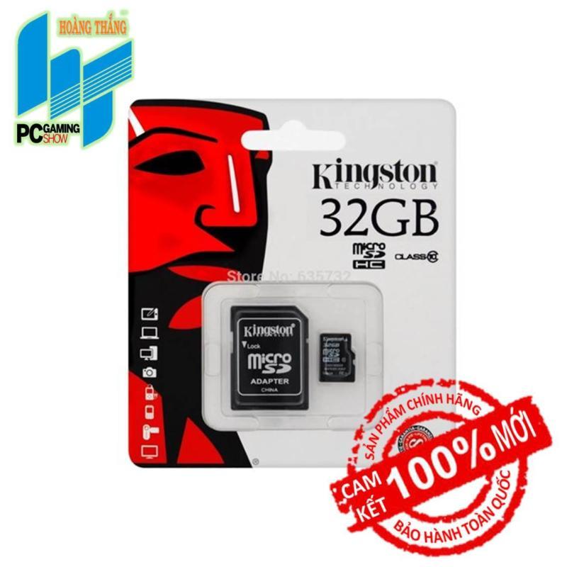 Thẻ nhớ Micro SDHC Kingston 32GB (Class 10)