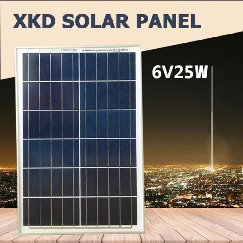 Tấm pin năng lượng mặt trời Solar Panel 6V 25w