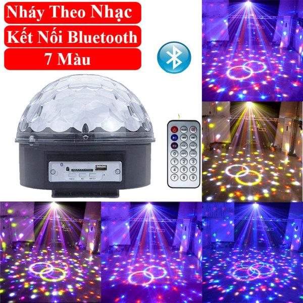 Đèn LED 7 màu vũ trường cảm ứng nhạc, bóng đèn LED trụ, đèn LED xoay 7 màu sân khấu chớp theo nhạc, Đèn nháy theo nhạc, đèn chớp 7 màu, đèn trang trí, đèn Led karaoke, đèn Led vũ trường, đèn cảm ứng âm thanh
