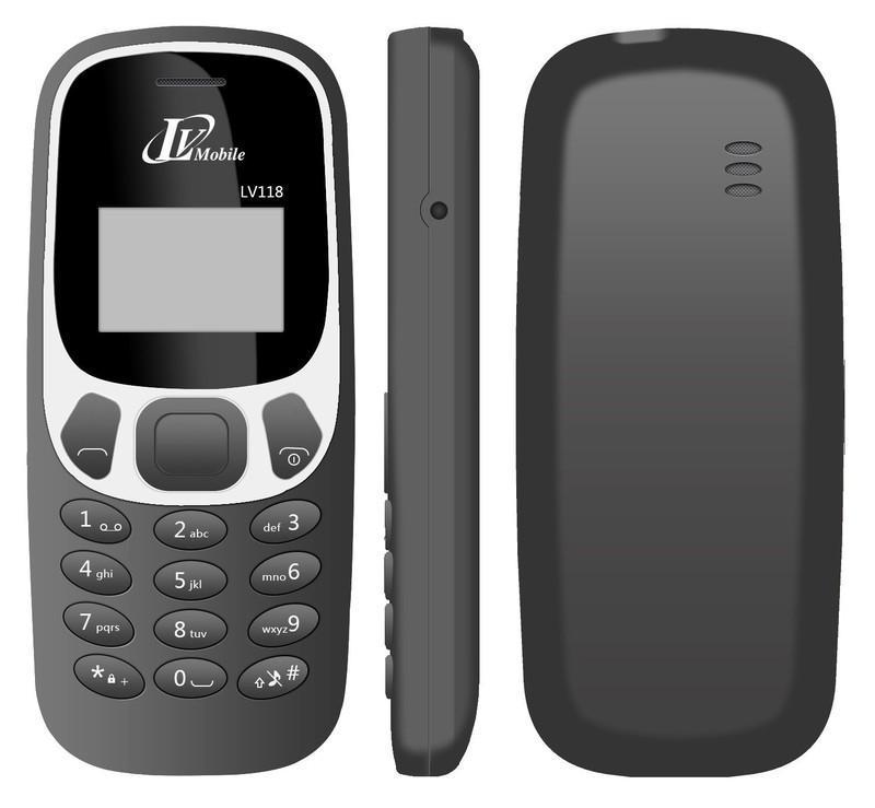 110k Điện thoại LV118 Đủ Pin, Sạc - 1SIM - Bảo hành 12 tháng