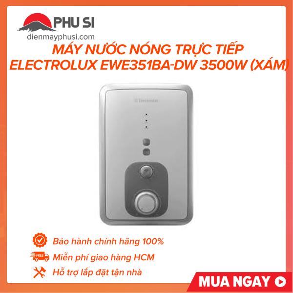 Bảng giá Máy nước nóng trực tiếp Electrolux EWE351BA-DW 3500W (Xám)