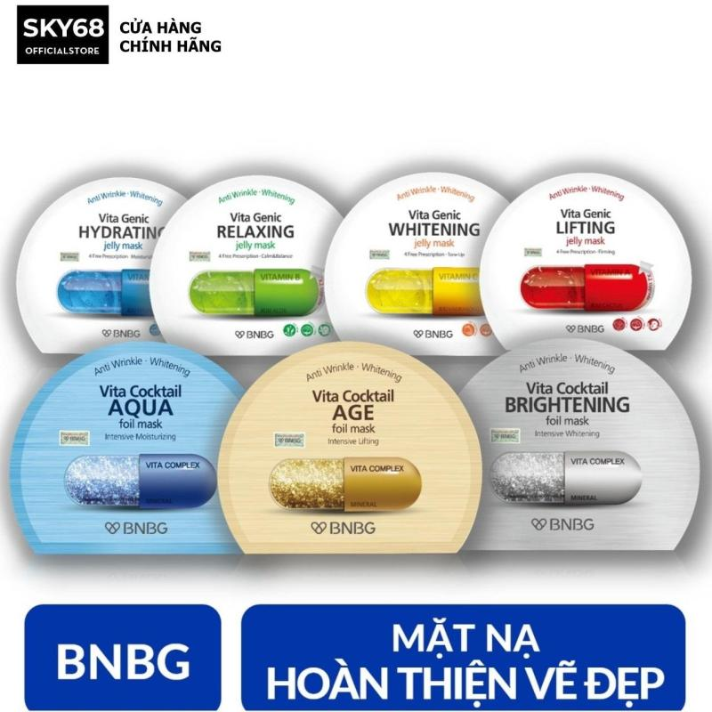 Combo 7 mặt nạ dưỡng da BNBG Mask 30ml x 7 nhập khẩu