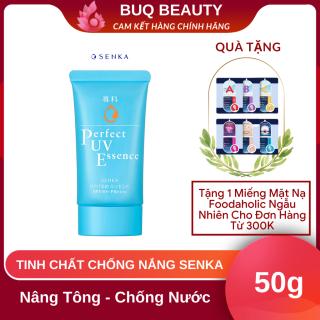 Kem chống nắng Senka Dạng Tinh Chất Thấm Nhanh Lâu Trôi SPF 50+, PA++++ Senka Perfect UV Essence 50g thumbnail