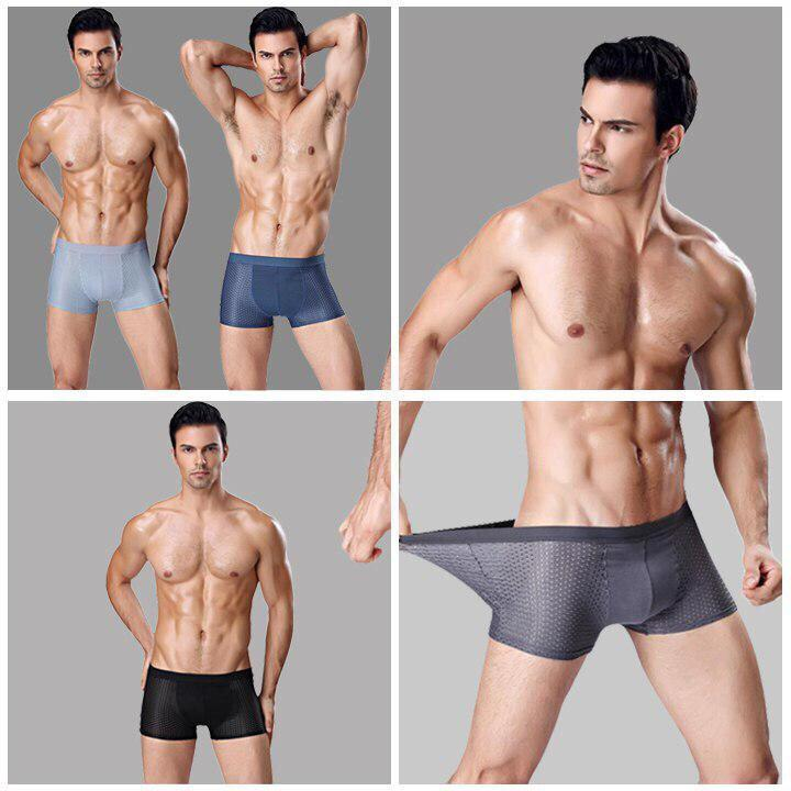 Combo 4 quần lót nam thông hơi Nhật Bản