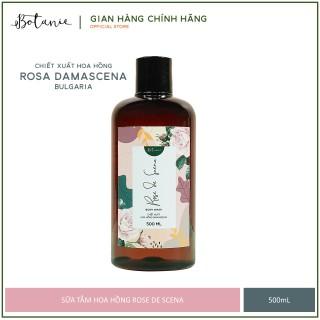 [HCM]Sữa tắm hương nước hoa Rose de Scena Botanie từ Hoa hồng Damascena - Dưỡng ẩm sáng da làm sạch dịu nhẹ thumbnail