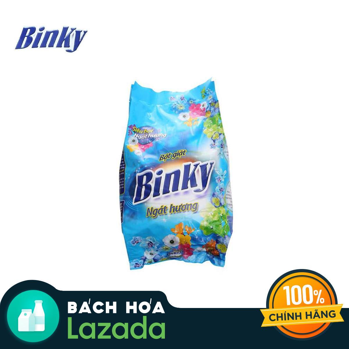 Giá Cực Tốt Khi Mua Bột Giặt Binky Ngát Hương 6kg