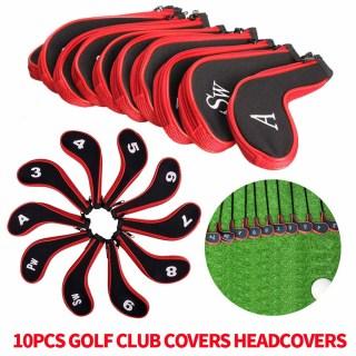 Câu lạc bộ Golf JL không thấm nước 10x Neoprene Bao gồm Headcovers Iron Club Putter Protect Set 5 màu thumbnail