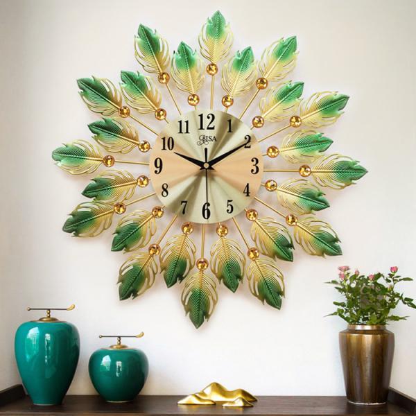 Đồng hồ treo tường thương hiệu BISA size 45cm chọn mẫu bán chạy