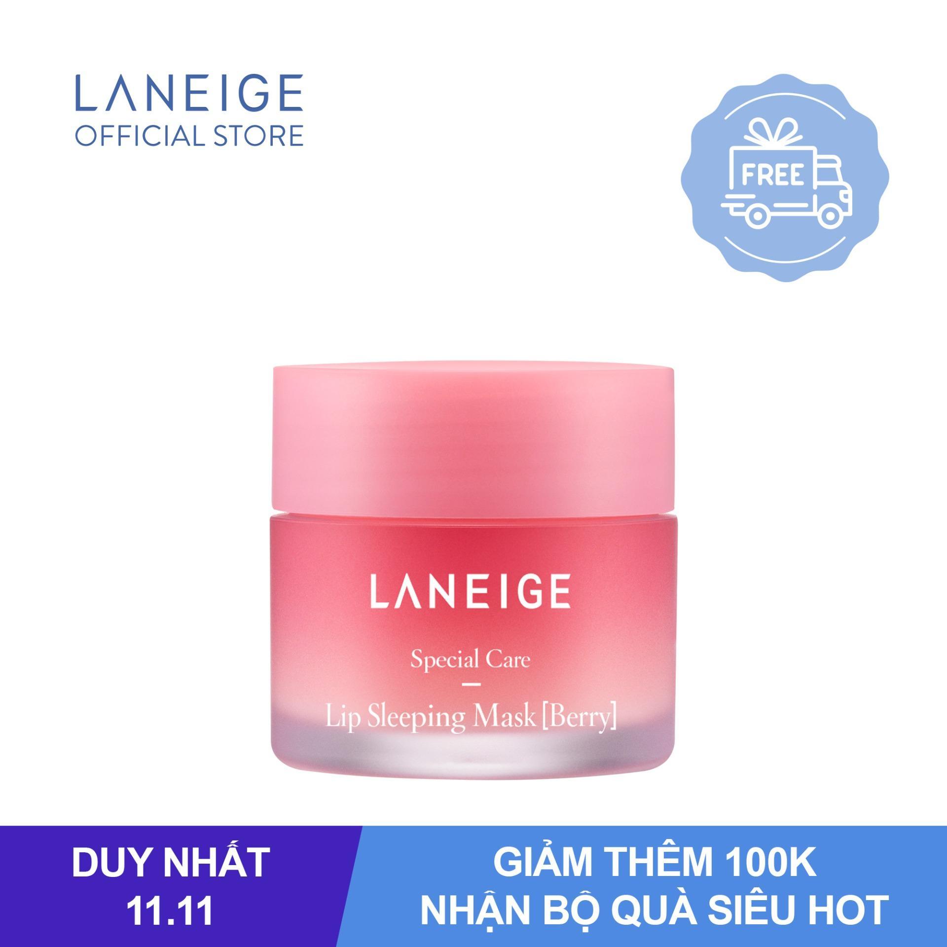 Mặt nạ ngủ cho môi hương quả mọng Laneige Lip Sleeping Mask Berry 20g nhập khẩu
