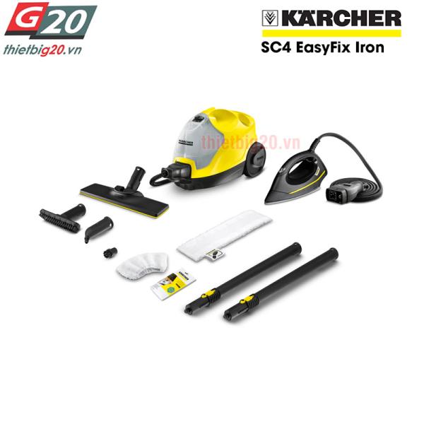 Máy làm sạch bằng hơi nước Karcher SC4 EasyFix Iron