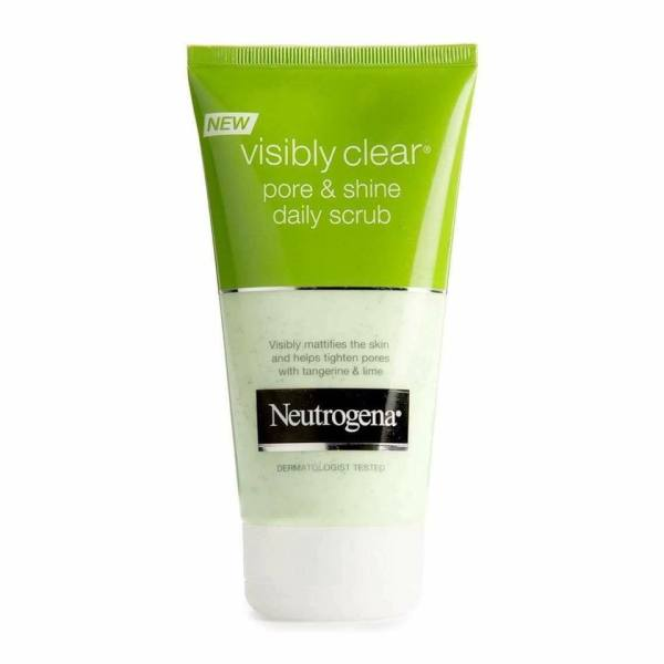 Sữa rửa mặt tẩy da chết Neutrogena Visibly Clear tốt nhất