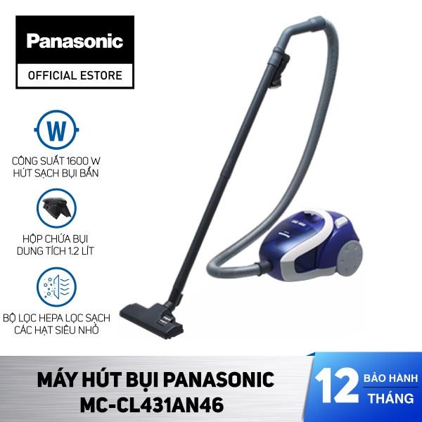 Máy Hút Bụi Panasonic MC-CL431AN46 - Hàng Chính Hãng - Bảo Hành 12 Tháng