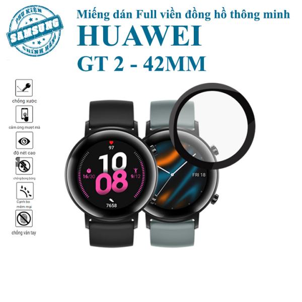 Kính cường lực dẻo full viền Huawei GT 2 bản 42mm