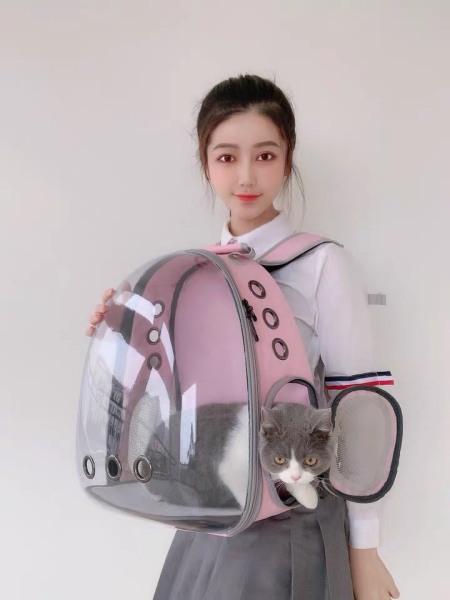 Balo trong cao cấp dành cho chó mèo