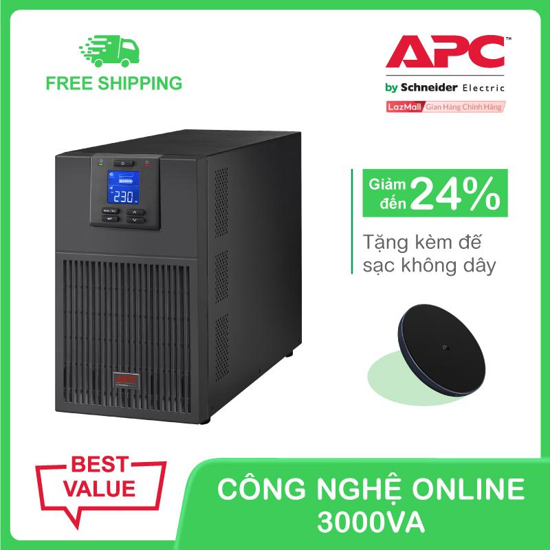 Bảng giá Bộ lưu điện APC Easy UPS SRV 3000VA 230V Phong Vũ