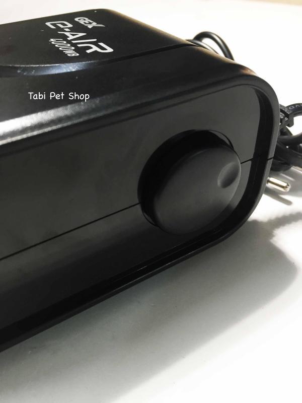 Máy Sủi Khí Oxi 2 Vòi Siêu Êm GEX 4000SB - Máy Sủi Oxy Không Ồn Của Nhật