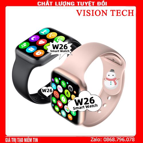 [New 2020] Đồng hồ thông minh mới W26 1.75 inch Nhịp tim ECG Huyết áp IP68 chống nước pk f20 t500 ft30 Đồng hồ thông minh kết nối Bluetooth không dây  app tập thể dục chống nước tiêu chuẩn IP67 thời gian sử dụng lâu