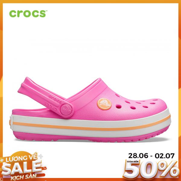 Giá bán CROCS Giày Clog Trẻ Em Crocband Electric 204537
