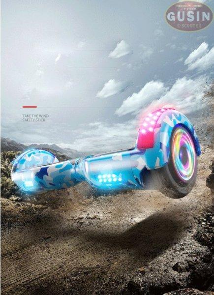 Mua [HCM]xe điện tự cân bằng 6.5inch  chính hãng GuSin / có video test / có loa Bluetooth2.0 / bảo hành 2 năm